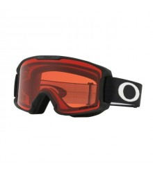 Oakley OO7095 04 LINE MINER YOUTH MATTE BLACK PRIZM SNOW ROSE síszemüveg