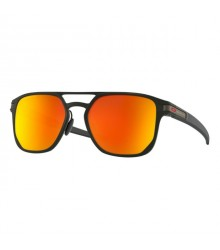 Oakley OO4128 05 LATCH ALPHA MATTE BLACK PRIZM RUBY POLARIZED napszemüveg